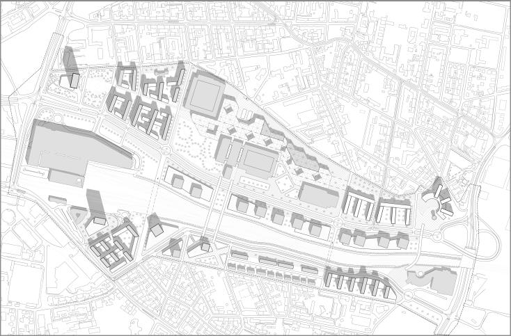 Poznan, master plan ( student work )